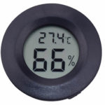 Round Mini Digital Hygrometer/Thermometer Combination