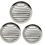 Round Stainless Steel Air Vent