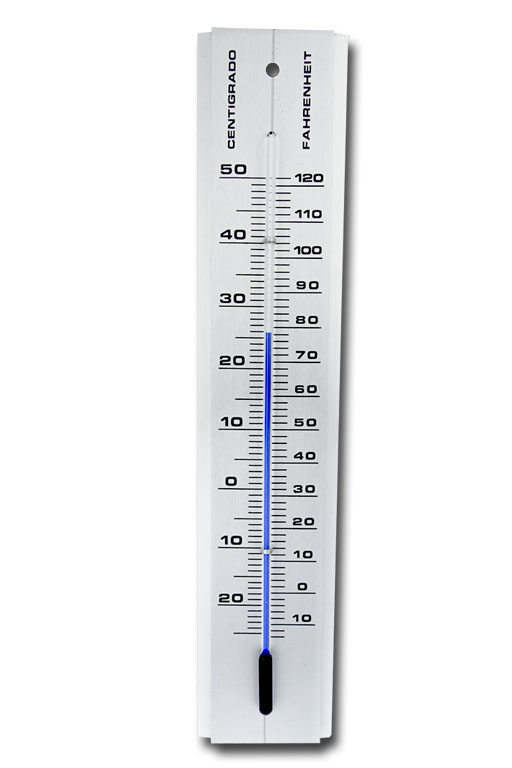 Chemical thermometer for Bearded dragons